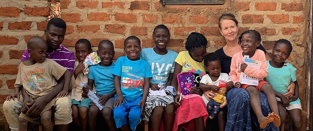 Wieder in Uganda